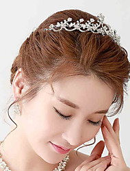 Rhinestone / Alloy Headpiece - Wedding / Special Occasion Tiaras