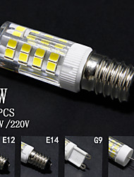 5PCS, G4/G9/E12/E14,4W,110V/220V,double contacts corn lights, indicating bulbs, bulbs,  household lighting, corn lights