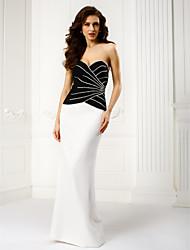 TS Couture® Formal Evening Dress Sheath / Column Sweetheart Floor-length Chiffon with