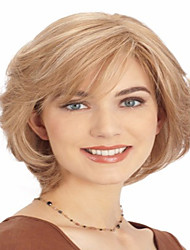 Hot Sale Women Lady Blonde  Charming Short  Bob Syntheic  Wig