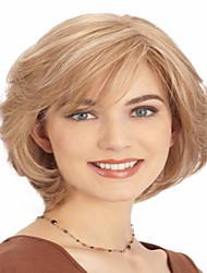 Горячая продажа повелительницы женщин блондинка очаровательный короткий боб парик syntheic