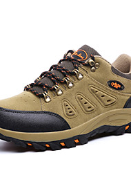 Men's Hiking Shoes Suede Green / Gray / Khaki