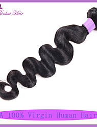 Remy 7A Unprocessed Indian Hair Weave Top Grade Cuticle Indian Virgin Hair Extension Body Wave Human Hair