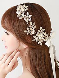 European Rhinestone / Alloy / Imitation Pearl Headpiece - Wedding / Special Occasion Headbands