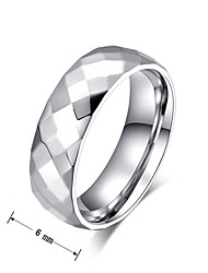 Band Rings Steel Fashion Screen Color Jewelry Party 1pc