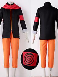 Costumes Cosplay - Naruto Uzumaki - Naruto - Manteau / Pantalons / Echarpe