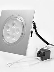 5W Lampes Encastrées 5 LED Haute Puissance 450 lm Blanc Chaud Décorative AC 100-240 / AC 110-130 V 1 pièce