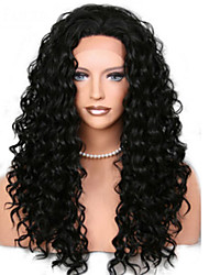 Curly Hair Mongolian Virgin Glueless Full Lace Wig With Baby Hair Bleached Knots for Black Women Long Curly Lace Wig