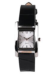 Hot Network Fashion Black Belt Rectangular Women's Watch Cool Watches Unique Watches