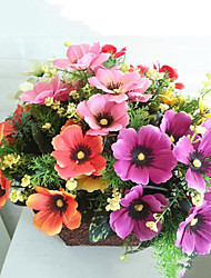 Polyester Sonnenblumen Künstliche Blumen