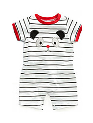 3-24M Baby Boy Girl Rompers Summer Short Sleeve Toddler Infant Newborn Clothing Suit Jumpsuit