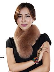 pelliccia avvolge avvolge pelliccia di volpe delle donne di modo (più colori)