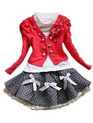 Girls Outwear Clothing Suit Set Case Kids Clothing