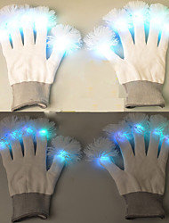 Valentine'S Day Gift Creative TLed Gloves Warm Fingers Flash Ball Lamp Light Led