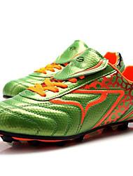 Zapatillas de deporte ( Verde / Negro ) - de Fútbal - para Niños / Niñas / Unisex