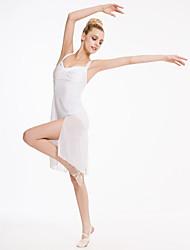 Vestidos(Blanco,Nylón / Licra,Ballet / Desempeño) -Ballet / Desempeño- paraMujer / Niños Representación