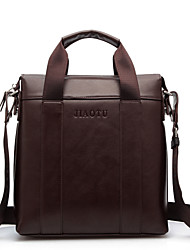 Men PU Messenger Shoulder Bag / Tote / Laptop Bag / Carry-on Bag / Boarding Case/Cabin Case - Brown / Black