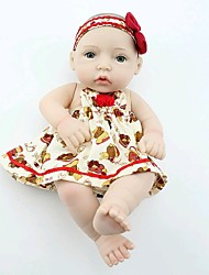 NPKDOLL Reborn Baby Doll Hard Silicone 11inch 28cm Waterproof Red Hat Girl
