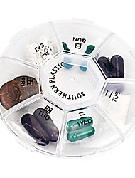 Travel Travel Pill Box/Case Travel Accessories for Emergency Portable Plastic
