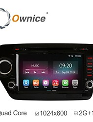 8 Inch 1024*600 In-Dash Car DVD Player For kia k2 Rio 2011-2012 with Quad Core Pure Android 4.4.2 GPS Navigation 2G RAM