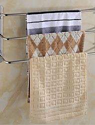 Contemporary Stainless Steel 3 Bars Towel Rack