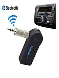 inalámbrica Bluetooth 3.5mm aux audio estéreo de la música del adaptador del receptor del coche casa w / mic