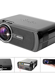 LP-S1 LCD WVGA (800x480) Projector,LED 1000 Lumens Mini Portable HD Projector