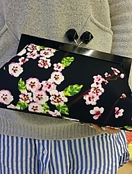 Flower Design Evening Bags/Clutches with Big Space