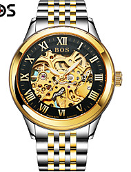 BOS Royal Series Automatic Mechanical Watch Hollow Mens Watch Fashion Business Trend Of Men's Watch