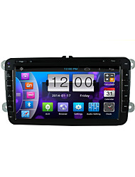 "Android 4.4 GPS Navigation 8""""2007-2015 Volkswagen Motorized Touch Screen Car DVD Player -GPS-BT-FM-3G-WIFI"