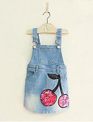 Girl's Blue Jeans,Print Cotton Summer / Spring / Fall