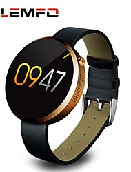 appareils portables lemfo dm360 mtk2502a 1,22 pouces Bluetooth montre intelligente Smart Watch pour iOS Android