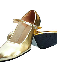 Non Customizable Women's Dance Shoes Latin / Jazz / Modern / Dance Shoes Accessories Synthetic Low Heel Black