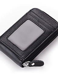Unisex Cowhide Formal / Sports / Casual / Event/Party / Outdoor Card & ID Holder / Business Card Holder