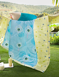 Dandelion Love High-end 100% Cotton Air Conditioning Quilt summer Cool Quilt Full/Queen Size