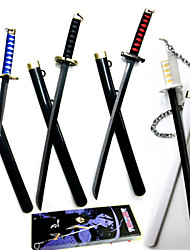 Bleach Ichigo Kurosaki  Alloy Sword 30CM  Props Ornaments Cosplay Accessories
