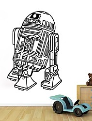 Art Design home decoration Star Wars robot  Wall Decals Vinyl house Decor Removable Mural famous movie sticker for Kids