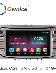 In-Dash Car DVD Player For Ford Focus Mondeo S-Max 2008-2011 with Quad Core Android 4.4 GPS Navigation Radio