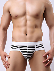 New explosion models factory men's Cotton Striped Triangle pants men's briefs