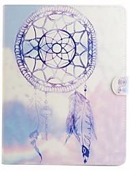 фиолетовый ветер куранты цветной рисунок или узор пу кожаный фолиант случай таблетки кобуры для Ipad Ipad AIR2 воздуха