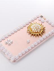 perle 5 TPU + pc fond transparent pour iPhone6 ainsi, 6s, plus