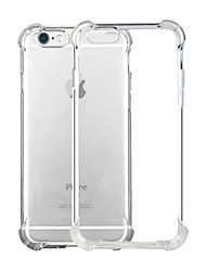 Para iPhone X iPhone 8 iPhone 8 Plus iPhone 6 iPhone 6 Plus Carcasa Funda Antigolpes Transparente Cubierta Trasera Funda Color sólido