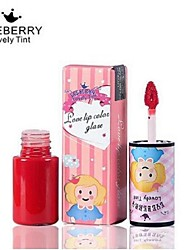 Lipstick Wet Balm Coloured gloss / Moisture / Natural / Breathable / Brightening Multi-color