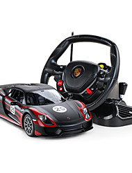 RASTAR 1:14 Porsche 918 RC Cars Electric Remote Control Toys 4CH Radio Cars Classic Hobbies Toys For Boys Kids
