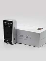 Bluetooth Wireless Keyboard Laser Keyboard Virtual Keyboard Voice Box For Windows XP / Android 3.1 Or higher JFS0105006