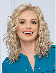 Top Quality Blonde Color Synthetic Long Curly Synthetic Wigs