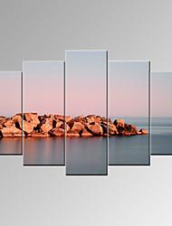 VISUAL STAR®Calm Water Seascape Canvas Art Home Decor Print Art Ready to Hang