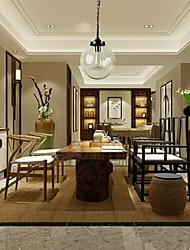Traditionnel/Classique / Vintage / Globe Style mini / Ampoule incluse Peintures Lampe suspendueSalle de séjour / Chambre à coucher /