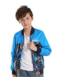 Boy's Polyester Jacket & Coat , Spring / Fall Long Sleeve