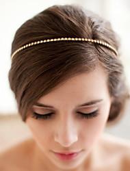 Women's / Flower Girl's Alloy Headpiece-Wedding / Special Occasion Headbands 1 Piece